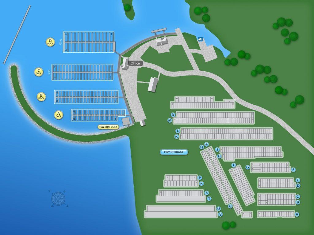 lake conroe marina, boat storage and launching services
